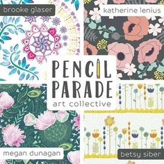 IT'S HERE IT'S HERE! I know you guys were on pins and needles about the announcement this week (which is TODAY!), so here goes: *drumrolllllll* I'm thrilled to announce the launch of PENCIL PARADE! We are an art collective of four crazy-awesome-talented women celebrating creativity through illustrations and patterns. You can follow us @pencilparade where we daily share what we are creating. You can also learn more about us individually by clicking on the link in our profile. Or by…