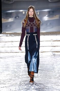 Peter Pilotto Shows Us How to Do Boho Dressing for Fall via @WhoWhatWear