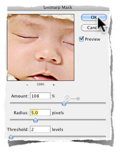 3 Simple Steps For Sharpening Images In Photoshop Using Unsharp Mask