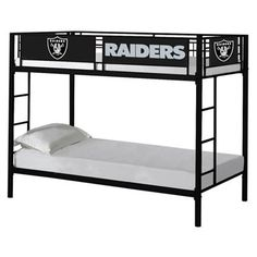 Oakland Raiders Youth Bunk Bed