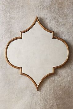 Quartet Mirror by Anthropologie in Brown, Wall Decor - Bohemian Home Diy Morrocan Decor, Moroccan Mirror, Moroccan Style Bedroom, Beach Canvas Wall Art, Spiegel Design, Estilo Interior, Trendy Home, Bohemian Decor, Bohemian Style