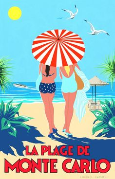 I LOVE this old vintage #travel poster!                                                                                                                                                     More