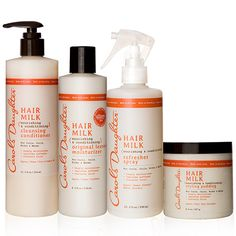 Natural Hair Care, Natural Beauty Products, Natural Skincare - Carol's Daughter - Hair Milk Perfect Curls Collection