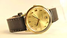 Collectable wirstwatch luxury brand Fortis 60's. Automatic movement Cal.ETA 2452. 25jewels.