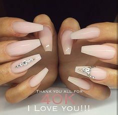Nails With Diamonds