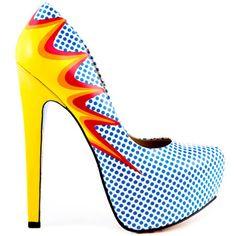 Talia Explosion High Heel #Shoe by Kensie