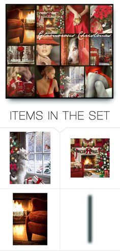 """""""Glamorous Christmas 🎄"""" by qiou ❤ liked on Polyvore featuring art"""