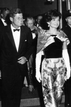 First Lady Jackie Kennedy and Jack (recadrage)