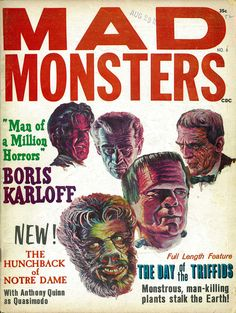 Mad Monsters. Issue No. 6.