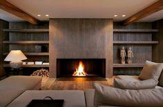 #fernandoleonespacios #salon #chimenea #iron #natural #wood #madera #interiorismo #diseño #sencillo #calido #arquitectura #modern #design #clean #winter #ideas #pedreguer #alicante