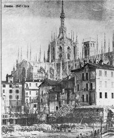 Campanile - Duomo di Milano 1845