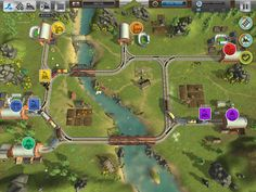 train valley game - Google Search