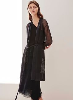 Knitted Linen Jacket - AD Woman | Adolfo Dominguez shop online