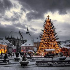 2016 Christmas Holiday in Romania. Book now at special offers this wonderful christmas holiday tour . Christmas Tours in Romania with RomaniaToGo Private Tours. Places Around The World, The Places Youll Go, Places To See, Around The Worlds, Most Beautiful Pictures, Beautiful Places, Brasov Romania, Winter Christmas, Christmas Trees