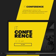 "Check out this @Behance project: ""IT Conference"" https://www.behance.net/gallery/38580221/IT-Conference"