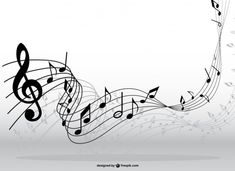 Note lines vector Free Vector Music Notes Art, Music Pics, Music Images, Lyric Tattoos, Tatoos, Touches De Piano, Music Silhouette, Music Notes Background, Music Tattoo Designs