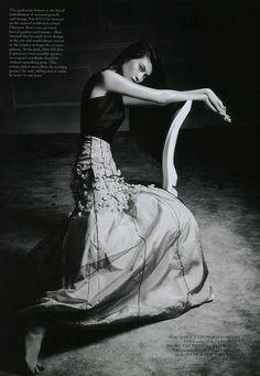 Sui He Wears Dior, Lensed By Bojana Tatarska For Glass Magazine Winter2013/14.