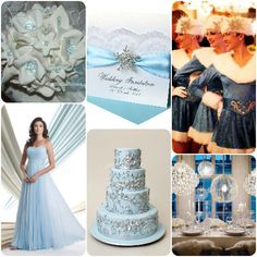 What Colors Am I SUPPOSED To Have For My Winter Wedding? on itsabrideslife.com / Blue Wedding Ideas / Pale Blue Wedding Ideas