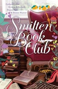 Kristin, Colleen, and Denise are giving away a copy ofSmitten Book Clubto one lucky reader!