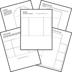 GRATUIT Modèles lapbook de Homeschool Partager