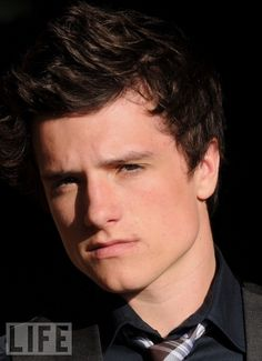 So handsome and the fact that he plays Peeta makes him hotter.