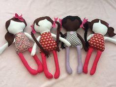 Les poupées sans visage: les poupiyettes (les brunes)