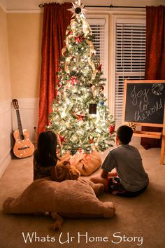 Learn how to hang your Christma tree lights the easy way.