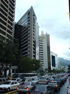 EDIFICIOS MODERNOS EN CARACAS VENEZUELA.