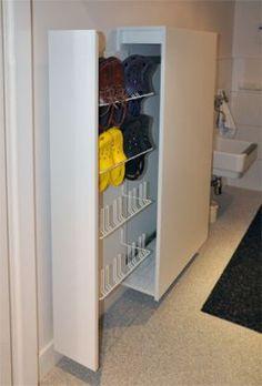 Shoe Storage, Diy Storage, Tall Cabinet Storage, Locker Storage, Mirrored Bedroom Furniture, Home Furniture, Bedroom Decor, Shoe Cabinet Design, Shoe Cupboard
