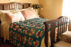 My Aunt Olga made one for Dr Warren to pay for my Uncle Warren's birth because my grandmother was poor. Aunt Olga was only ten at the time. She told that story to Dr. Warren's daughter and she graciously returned the coverlet to Aunt Olga as a gift. DZ