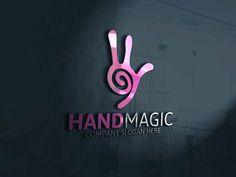 Hand Magic Logo by Josuf Media on Creative Market