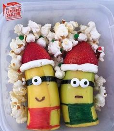 Minions out of bananas- no instructions