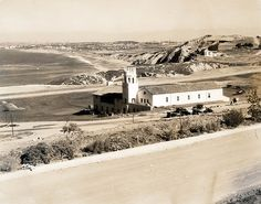 Malaga Cove School, Palos Verdes Estates, California . One of the first stuctures built.