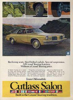 1974 Oldsmobile Cutlass Salon Coupe - Productioncars.com - V