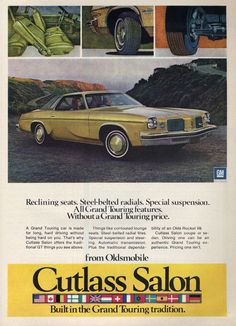 1974 Oldsmobile Cutlass Salon Coupe - Productioncars.com - V