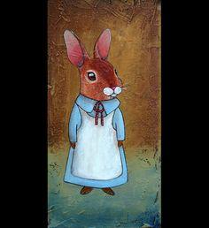 Rabbit girl - coneja SOLD