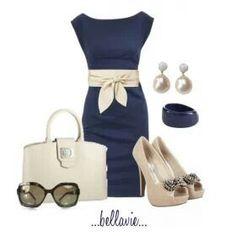 Little navy dress