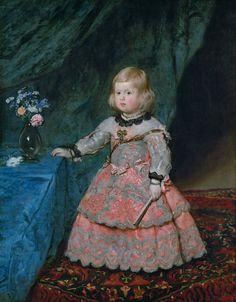 Diego Velázquez - Infanta Margarita - WGA24465.jpg