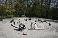 Caixa de areia | Playgrounds de Aldo van Eyck | Foto Marcos Rosa