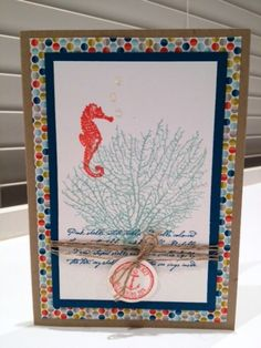 By The Tide Card Class - Card 2
