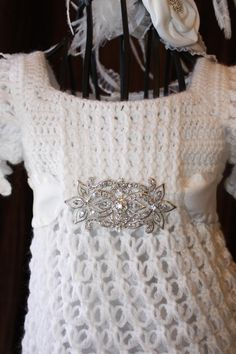 The Ava - Blessing / Christening Dress   Size Newborn and 3-6 months  Crochet Heirloom Christening Gown Baptism Confirmation on Etsy, $135.00