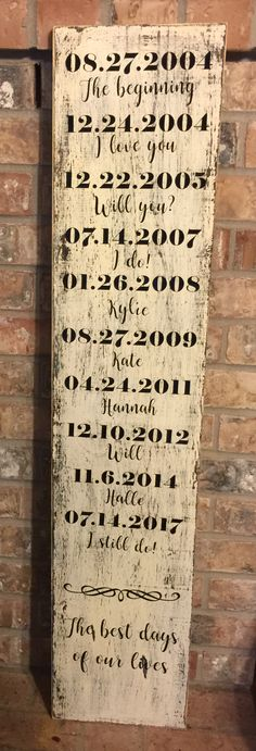 Farmhouse Clutter - Best days of our lives sign handmade on reclaimed wood- find more of our work on our Facebook page