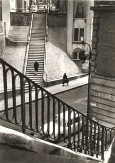 Alfred Eisenstaedt - Left Bank, Paris, 1964