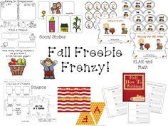 Fall Freebie Frenzy