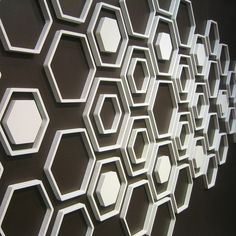 Walter Hex: A 3-dimensional DIY wall decor system that lets you design exactly what you want using a wide array of geometric and figural shapes.