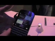 BlackBerry Q10 First Look!