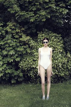 One-piece suit by Violet Cake