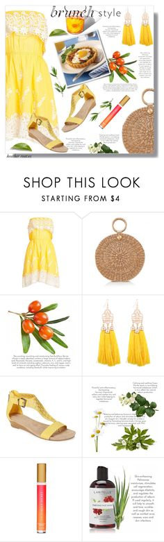 """""""Mother's Day Brunch Goals"""" by heather-reaves ❤ liked on Polyvore featuring Christophe Sauvat, Aranáz, Wilton, Kenneth Cole Reaction, Victoria's Secret and brunchgoals"""