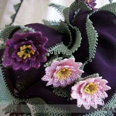 Mavicini Needle Lace, Lace Making, Lace Flowers, Burlap Wreath, Floral Wreath, How To Make, Handmade, Silk Crepe, Scarves