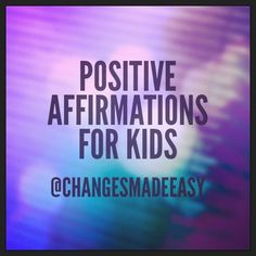 This [free] 33 page eBook is full of images of positive affirmations for kids of all ages. You can use these as a screensaver, on or in your social media postings, as a slide show or print them and put them everywhere! You can use them all or just the ones you [they] need at the time. Enjoy!